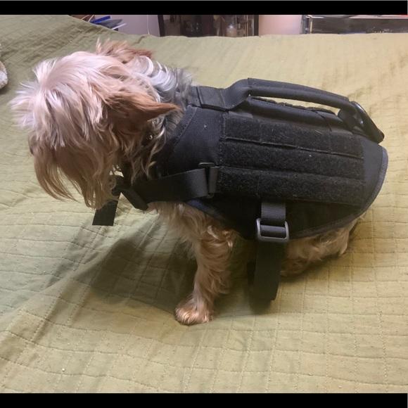 Dog Harness Military Vest